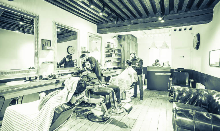 photo du salon 20 barber shop